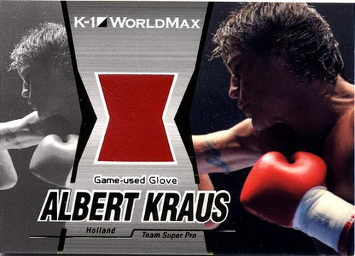 MMA K-1 World GP Albert Kraus Game-Used Glove G12
