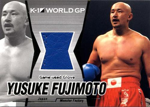 MMA K-1 World GP Yusuke Fujimoto Game-Used Glove G01