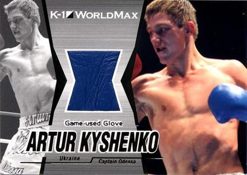 MMA K-1 World GP Artur Kyshenko Game-Used Glove G13