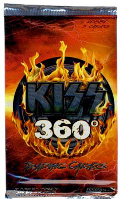 KISS 360 Degrees Trading Card Pack