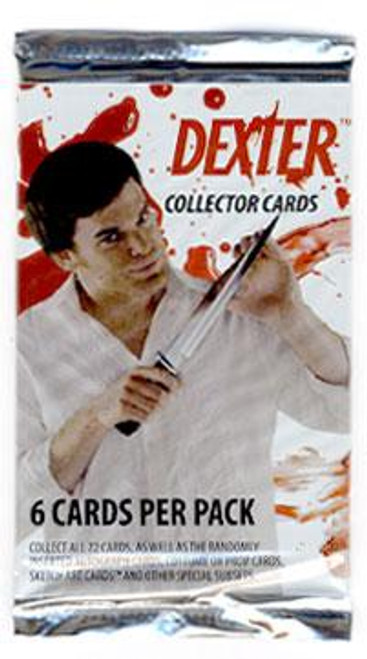 Dexter Collector Cards Trading Card Pack
