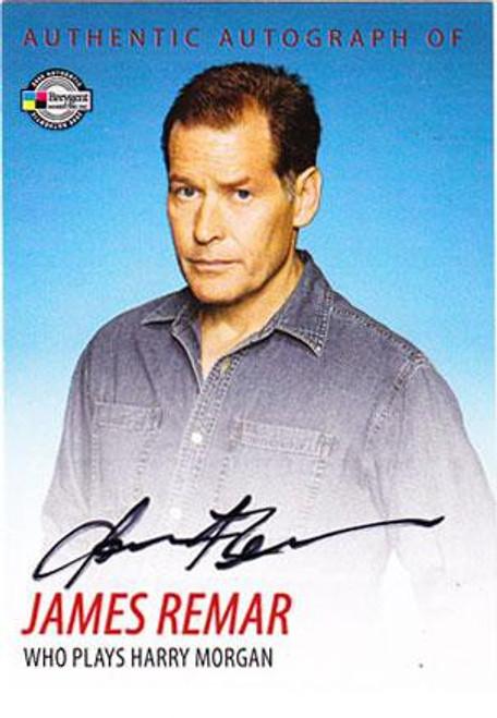 Dexter James Remar Autograph Card DA6 [Harry Morgan]