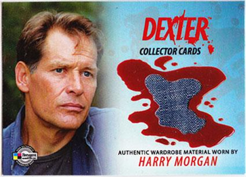Dexter Trading Cards Costume Card Harry Morgan #DC13