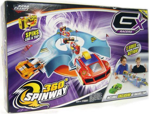 GX Racers 360 Degrees Spinway Track Set