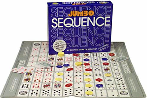 Jumbo Sequence Board Game