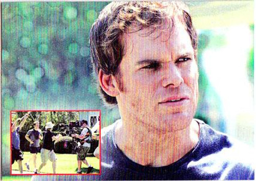 Dexter Shrink Wrap Chase Foil Trading Card DB2 [Season 1 Episode 8]