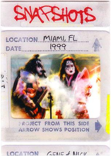 KISS 360 Degrees Snapshots Card Miami, FL1999 #9/12
