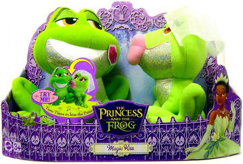 Disney The Princess and the Frog Magic Kiss Plush Set
