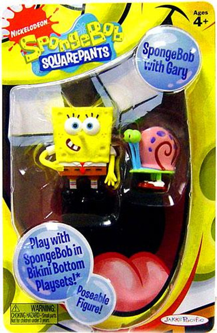 Spongebob Squarepants Spongebob Mini Figure [With Gary]