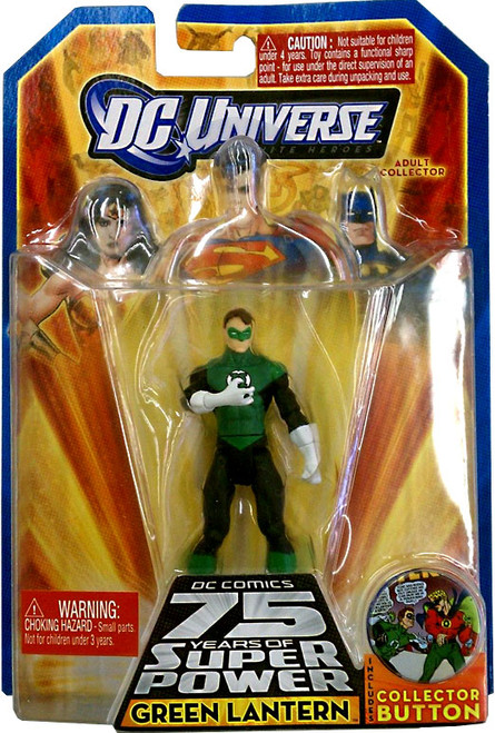 DC Universe 75 Years of Super Power Infinite Heroes Green Lantern Action Figure #037