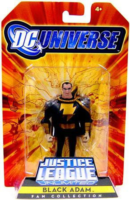 DC Universe Justice League Unlimited Fan Collection Black Adam Exclusive Action Figure