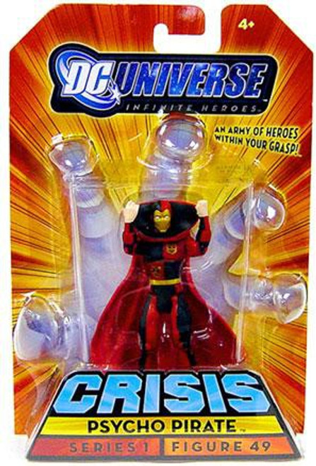 DC Universe Crisis Infinite Heroes Series 1 Psycho Pirate Exclusive Action Figure #49