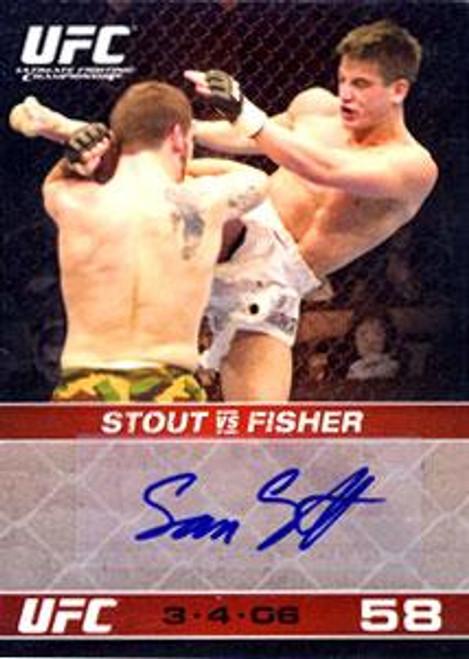 UFC 2009 Round 1 Sam Stout Signature Card Autograph Card