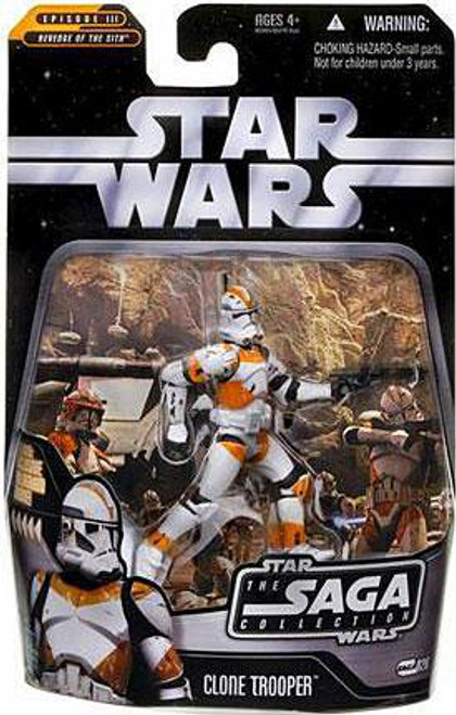 Star Wars Revenge of the Sith Saga Collection 2006 Clone Trooper Action Figure #26 [Utapau]