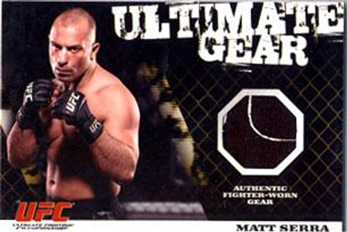 UFC 2009 Round 1 Ultimate Gear Card Matt Serra [Ultimate Gear]