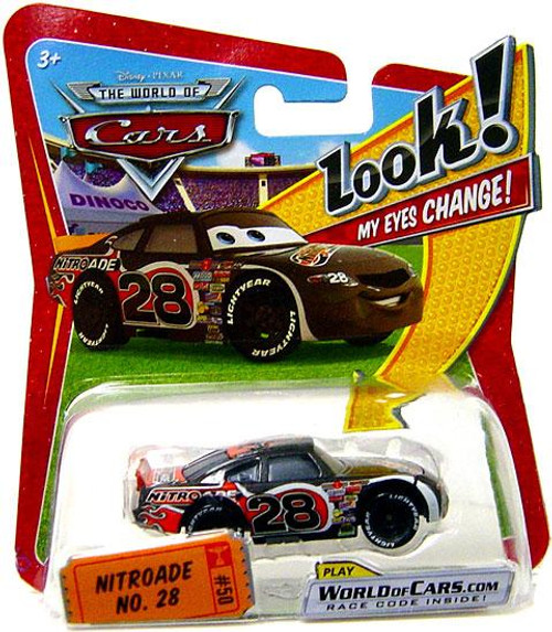 Disney Cars The World of Cars Lenticular Eyes Series 1 Nitroade No. 28 Diecast Car