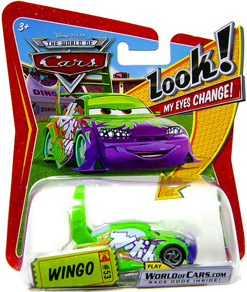 Disney Cars The World of Cars Lenticular Eyes Series 1 Wingo Diecast Car