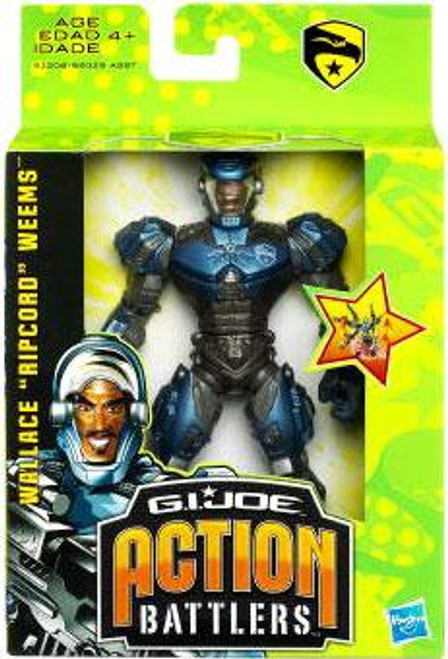 GI Joe The Rise of Cobra Action Battlers Wallace Ripcord Weems Action Figure