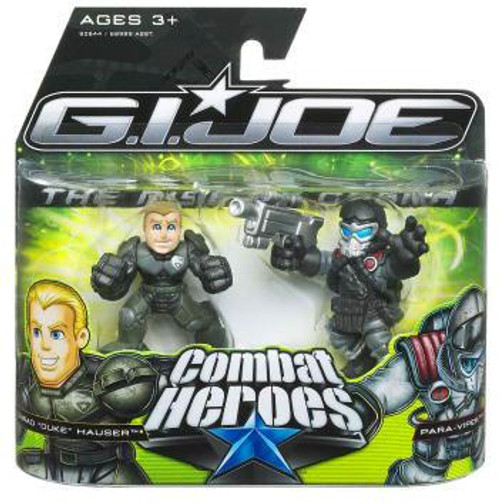 GI Joe The Rise of Cobra Combat Heroes Conrad Hauser Duke & Air-Viper Mini Figure 2-Pack