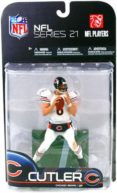 McFarlane Toys NFL Chicago Bears Sports Picks Series 21 Jay Cutler Action Figure [White Jersey Variant]