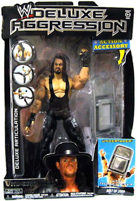 WWE Wrestling Deluxe Aggression Best of 2009 Undertaker Action Figure