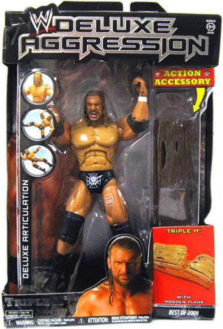 WWE Wrestling Deluxe Aggression Best of 2009 Triple H Action Figure