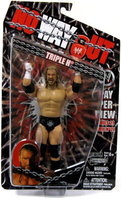WWE Wrestling Pay Per View Series 21 No Way Out Triple H Action Figure