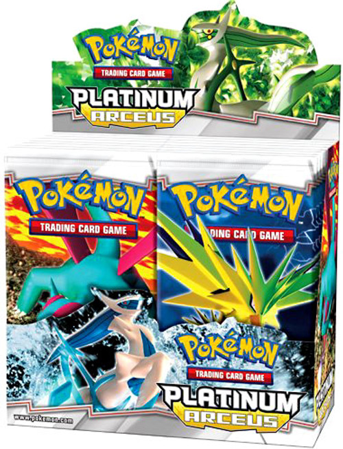 Pokemon Platinum Arceus Booster Box [36 Packs] [Sealed]
