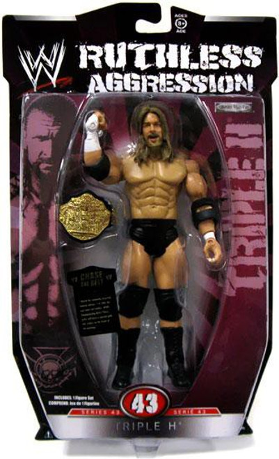 WWE Wrestling Ruthless Aggression Series 43 Triple H Action Figure