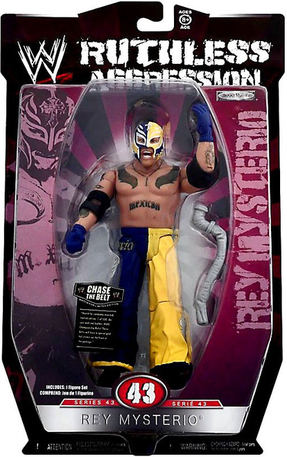 WWE Wrestling Ruthless Aggression Series 43 Rey Mysterio Action Figure