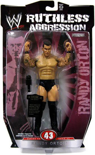 WWE Wrestling Ruthless Aggression Series 43 Randy Orton Action Figure