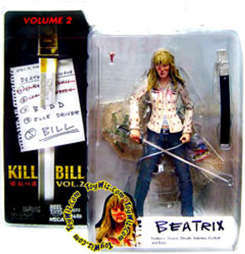 NECA Kill Bill Volume 2 Series 2 Beatrix Kiddo Action Figure