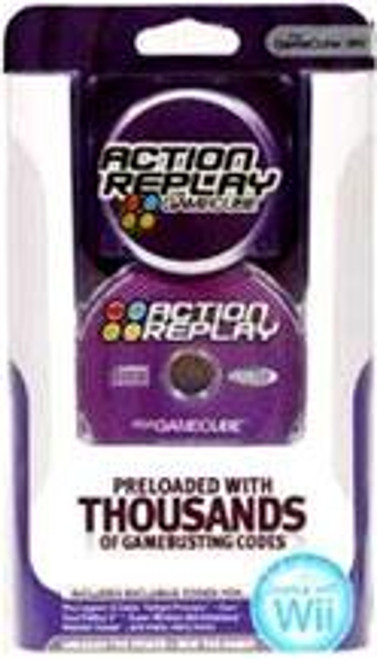 Nintendo Wii / Gamecube Action Replay Cheat System