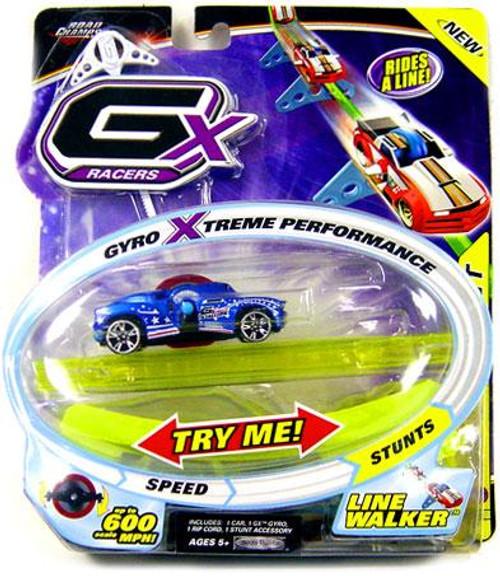 GX Racers Stunts Series 2 American Stallion Plastic Car [Line Walker Gyro]