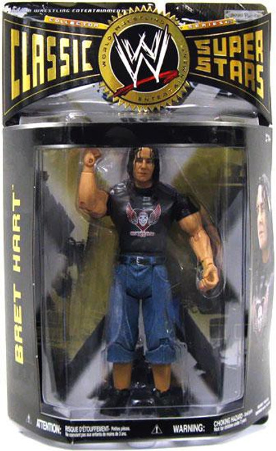 WWE Wrestling Classic Superstars Series 28 Bret Hart Action Figure