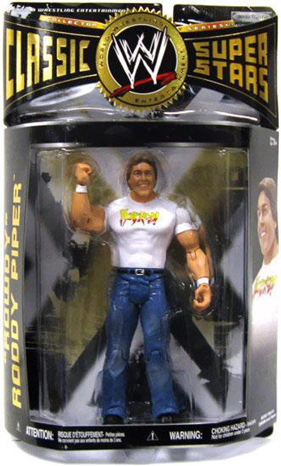 WWE Wrestling Classic Superstars Series 28 Rowdy Roddy Piper Action Figure