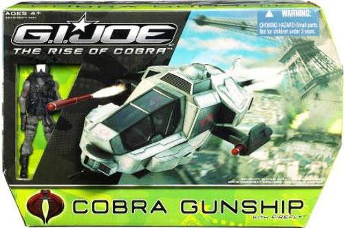 GI Joe The Rise of Cobra Cobra Gunship Action Figure Vehicle [Black Helmet Firefly]