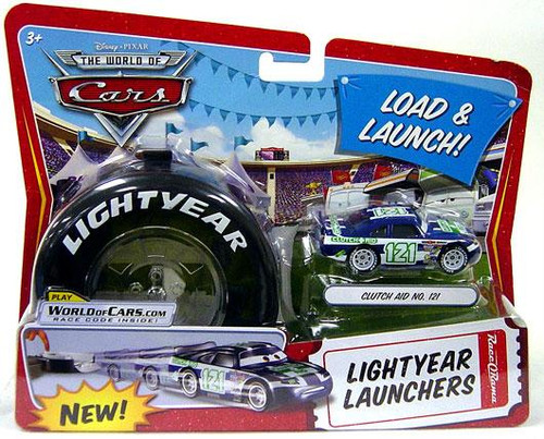 Disney Cars The World of Cars Lightyear Launchers Clutch Aid No. 121 Diecast Car [With Launcher]