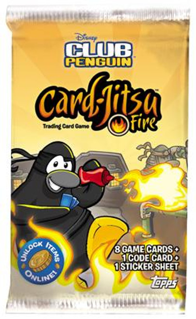 Club Penguin Card-Jitsu Fire Series 3 Booster Pack