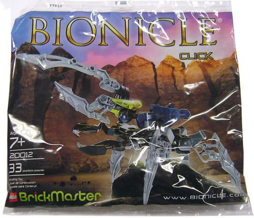 LEGO Bionicle BrickMaster Click Exclusive Mini Set #20012 [Bagged]