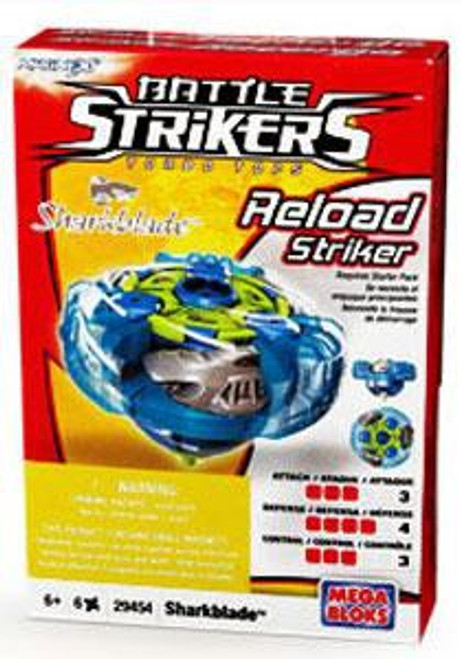 Battle Strikers Reload Striker Sharkblade Top #29454