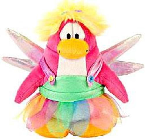 Club Penguin Series 4 Rainbow Faery 6.5-Inch Plush Figure [Version 1]
