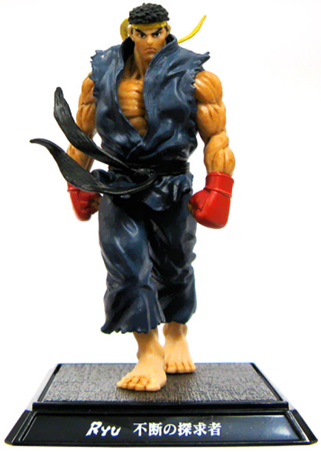 Street Fighter IV Ryu PVC Figure [Blue]