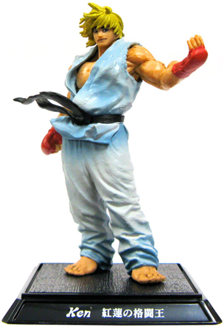 Street Fighter IV Ken PVC Figure [White]