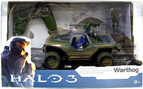 Halo 3 Warthog 8-Inch R/C Vehicle [Halo 3 Packaging]
