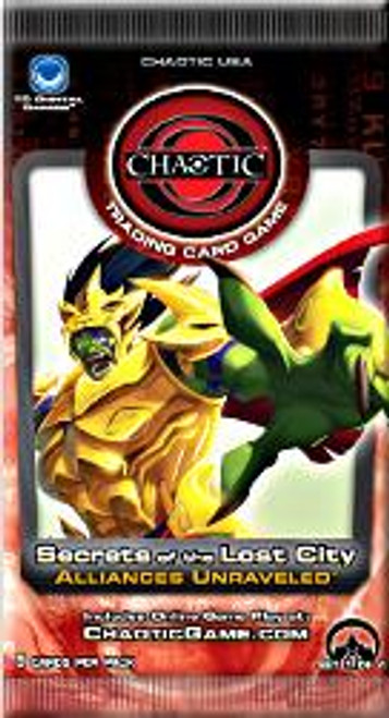 Chaotic Secrets of the Lost City Alliances Unraveled Booster Pack