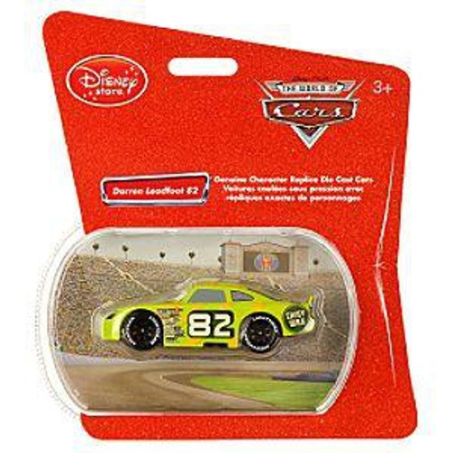 Disney Cars 1:48 Single Packs Darren Leadfoodt No. 82 Exclusive Diecast Car [Shiny Wax]