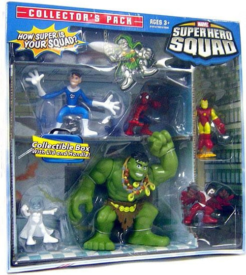 Marvel Super Hero Squad Collector's Pack Exclusive Action Figure Set [Hulk]