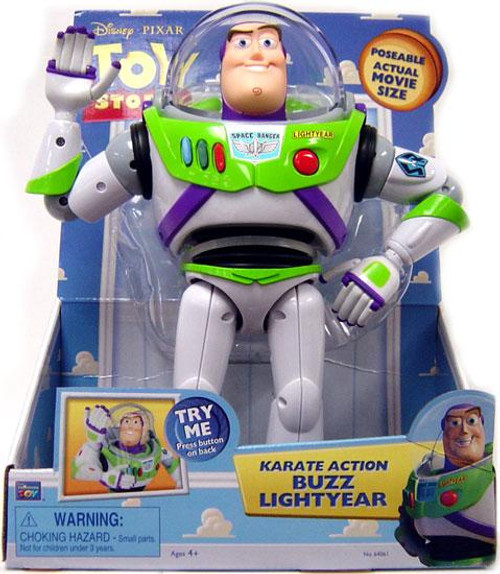 Toy Story Buzz Lightyear Action Figure [Karate Action]
