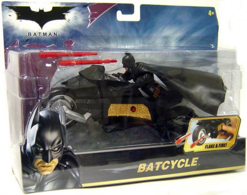 Batman The Dark Knight Batcycle Vehicle